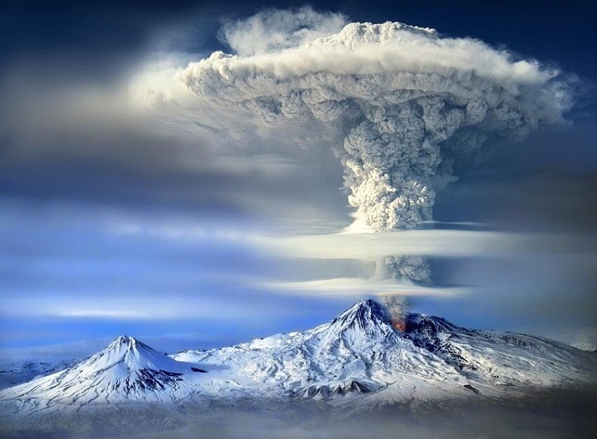 Mount Ararat in Armenia