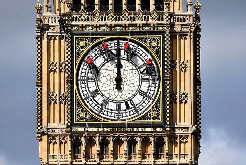 Watch Repair Big Ben in London